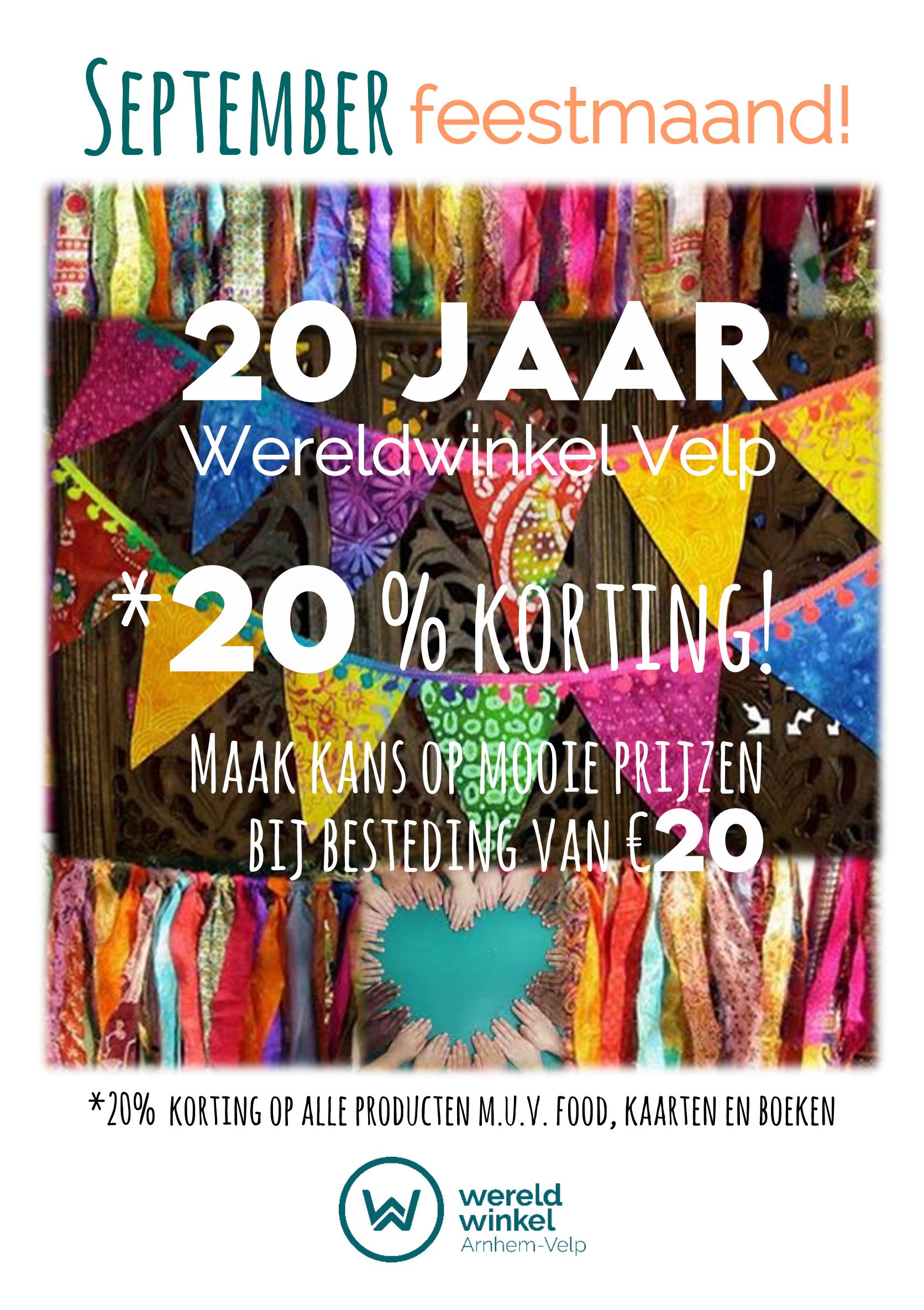 Wereldwinkel Velp bestaat 20 jaar